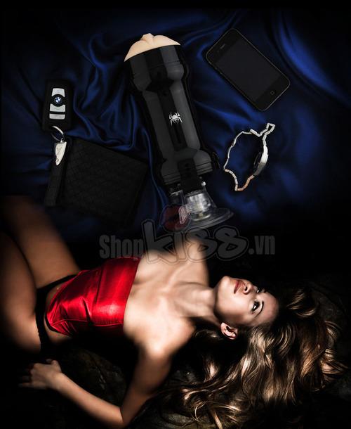 Âm đạo giả gắn tường Spider Masturbator DC45 đồ chơi tình dục cho nam sử dụng có đã không