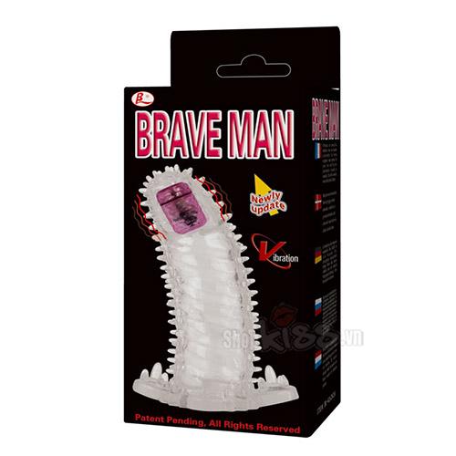Bao đôn rung đầu gai Brave BD09 chính hãng