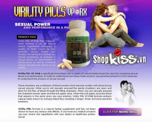 shop bán thảo dược hỗ trợ điều trị yếu sinh lý Virility Pills tăng cương cứng kéo dài thời gian quan hệ