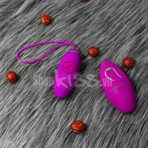 Trứng tình yêu massage cao cấp điều khiển từ xa EG30B thiết kế vỏ ngoài màu hồng với chất liệu là silicon cao cấp
