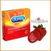 Bao cao su hương dâu Durex Strawberry hộp 3 cái xài có tốt không