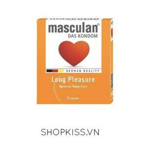 Bao cao su kéo dài quan hệ Masculan Đức tại shopkiss