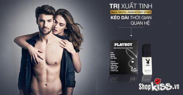 Chai xịt Play Boy kéo dài quan hệ XTS18 chính hãng
