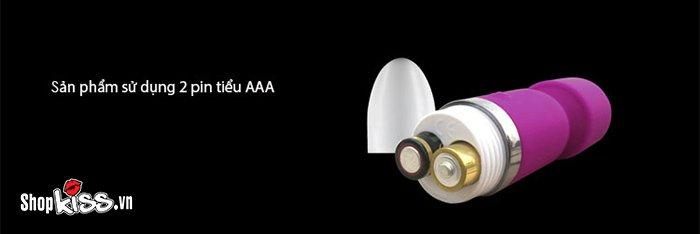 Chày rung mini JOKO AV14 thay pin để sử dụng