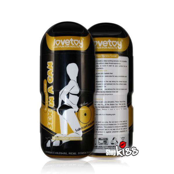 Cốc thủ dâm cho nam có rung Lovetoy Anus AD43A giá rẻ mua ở đâu tại hà nội và tphcm