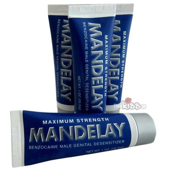 Gel bôi trơn kéo dài thời gian quan hệ Mandelay XTS08 giá rẻ tại tphcm