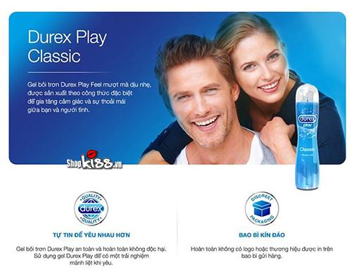 Gel bôi trơn Durex Play Classic 100ml G19B