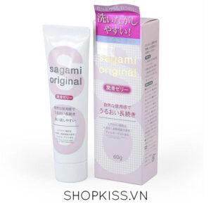 Gel Sagami Original là loại gel gốc nước tốt nhất Nhật Bản.