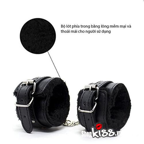 Bộ đồ chơi bạo dâm da đen QT09 giá rẻ tại tphcm