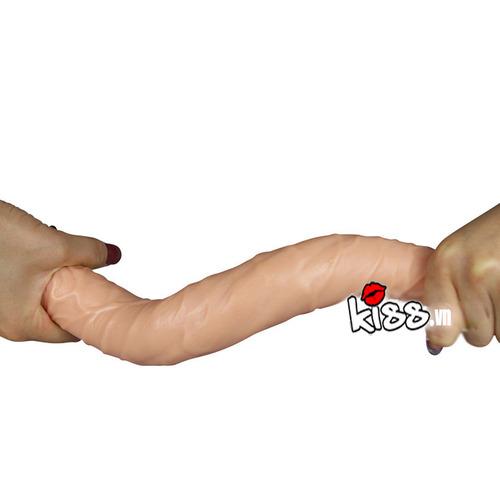 Cu giả hai đầu mềm mịn dành cho les DC79G dành cho đồng tính nữ