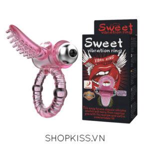 vòng rung lưỡi liếm đê mê sweet siêu sướng DC71H giá rẻ tại hcm