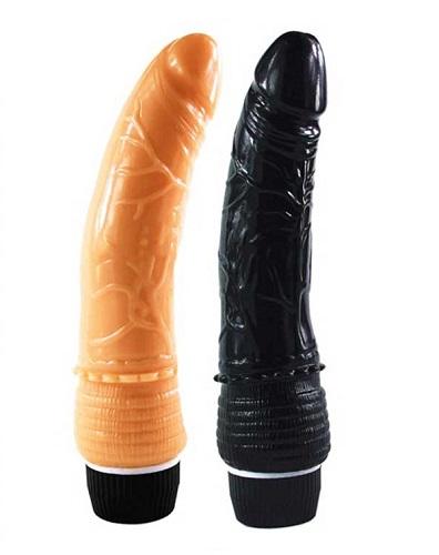 dương vật giả silicon shaki DV01D dài 19,5cm cho chị em tự sướng cực đã