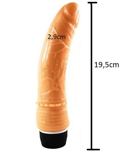 Kích thước của dương vật giả silicon Shaki