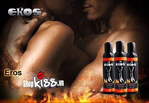 Dầu mát xa Đức Eros Warming G12D giá rẻ tại tphcm