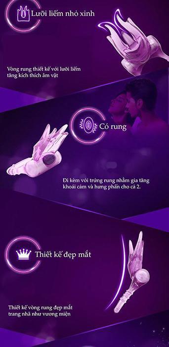 Đồ chơi tình dục Durex Ring of Bliss DC59C đa năng