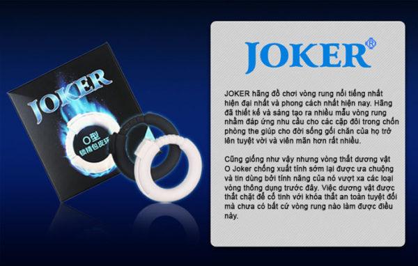 Vòng thắt dương vật O Joker DC60R có tác dụng kéo dài thời gian quan hệ