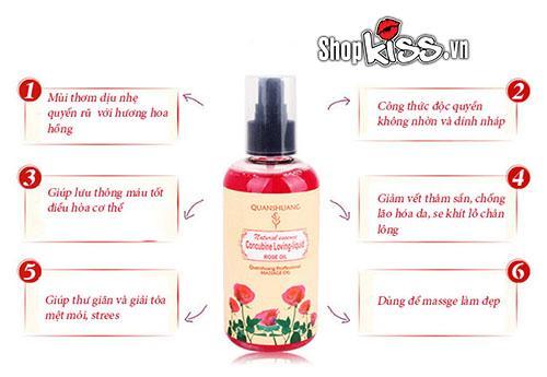 massage toàn thân bằng dầu mát xa hương hoa tự nhiên G12A