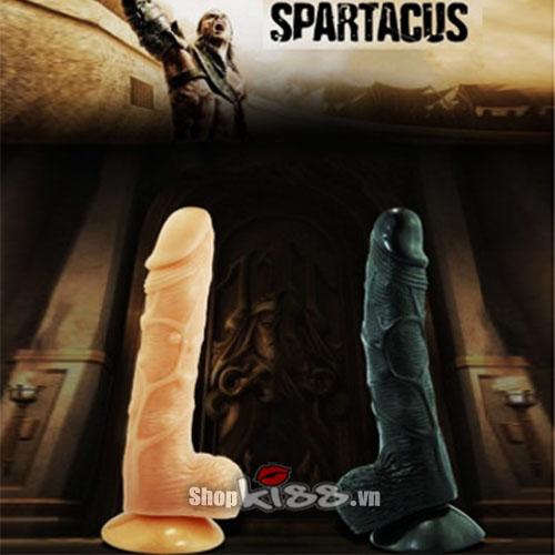 Dương vật giả gắn tường 2 lớp Da Alighter Spartacus DV61 mua ở đâu