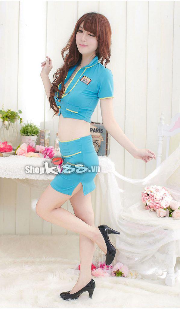 Mua váy đồng phục thiên thanh NY36 tại đâu ở Hà Nội?