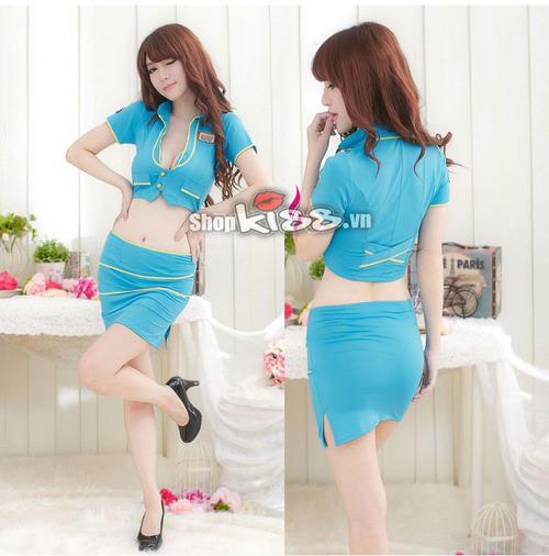Váy đồng phục thiên thanh NY36 giá rẻ ở Hồ Chí Minh?