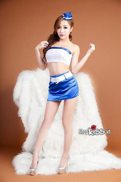 thời trang cosplay nữ tiếp viên hàng không quyến rũ giá rẻ tại hà nội