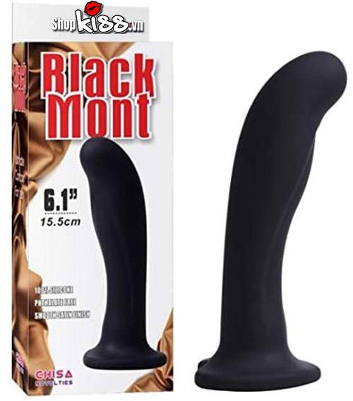Dụng cụ mát xa hậu môn Black Mont Chisa HM17C giá rẻ đồ chơi cho gay