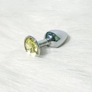 Dụng cụ kích thích hậu môn kim loại HM05C đồng tính nam kích thích lẫn nhau