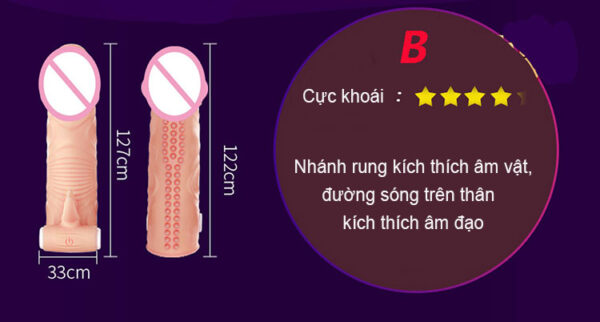 BCS dên Leten size nhỏ massage kích thích âm đạo BD41 tại tphcm