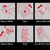 hướng dẫn sử dụng Cốc thủ dâm tenga air dc13b