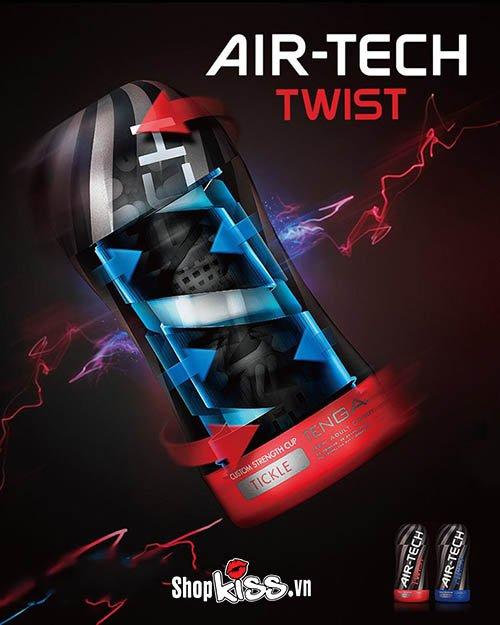 Cốc thủ dâm cao cấp Tenga Airtech Twist DC13D có tốt không