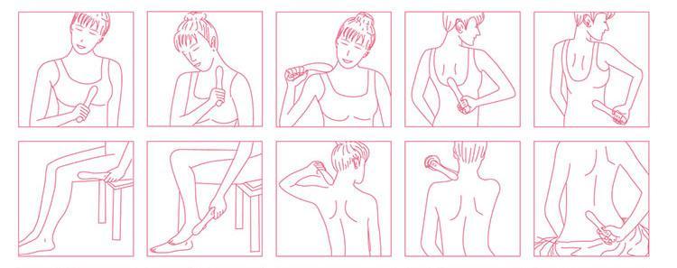 Dụng cụ massage âm đạo Svakom Becky DC90G hướng dẫn massage cơ thể