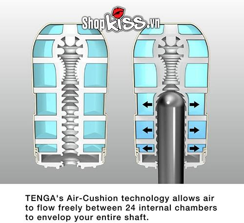 Âm đạo giả Cốc thủ dâm cho nam Tenga Air Cushion DC13C