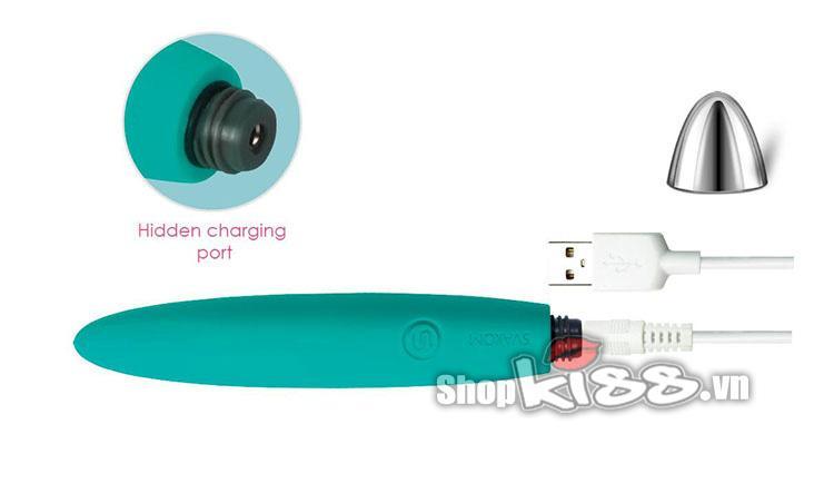 Thanh rung mini nhỏ xinh Svakom Daisy DC90A sạc pin cổng usb