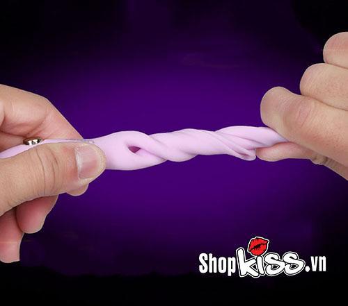 shop đồ chơi người lớn bán vòng rung lưỡi liếm có quai đeo Leten Vibrating DC71Q ở đâu