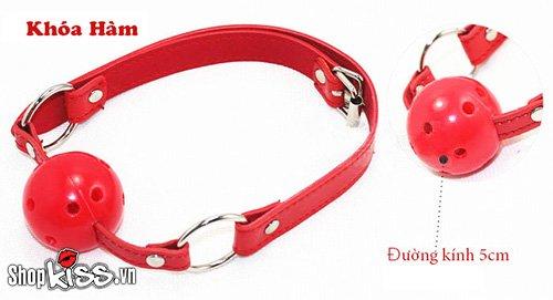 Bộ đồ chơi bạo dâm 7 món da đỏ QT07 dành cho các cặp BDSM