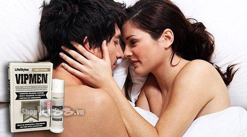 Chai xịt kéo dài ngăn ngừa xuất tinh sớm VIPMEN Spray giá bao nhiêu?