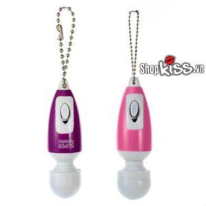 Dụng cụ kích thích mini dạng móc khóa cho chị em mua ở đâu