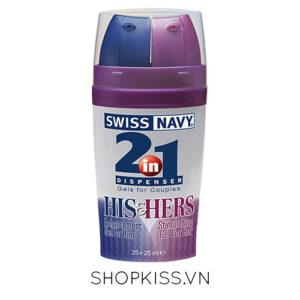 gel kéo dài thời gian swiss navy 2 in 1 giá rẻ tại hcm