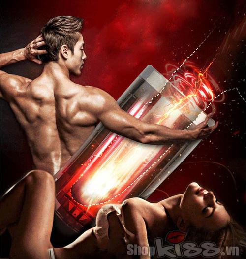 Máy thủ dâm tự động Nhật Bản Piston Heat IR tại shopkiss
