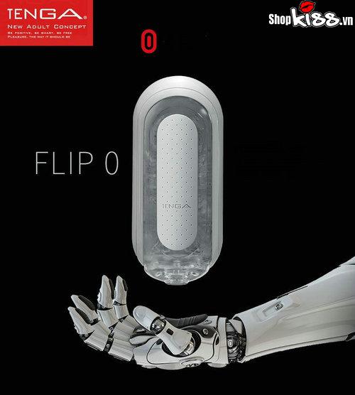 Cốc âm đạo giả Tenga Flip Zero Nhật Bản DC74D như một con robot biết kích thích cực khoái