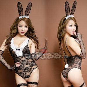bộ đồ ngủ cosplay nàng thỏ đen đẹp gợi cảm TT05 giá bao nhiêu?