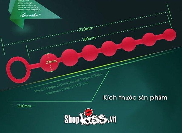 Dụng cụ massage hậu môn Loveaider chuỗi ngọc sung sướng HM29 tại shopkiss