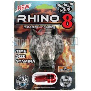 Thảo Dược Cương Dương Kéo Dài Quan Hệ RHINO 8 sử dụng được bao lâu