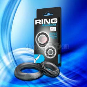 Bộ vòng đeo dương vật Ring Manhood DC70K chống thấm nước