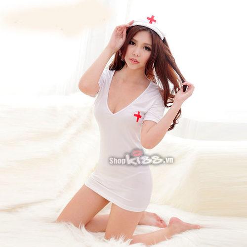 Cosplay nàng y tá gợi dục quyến rũ