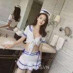 Đồ ngủ cosplay cô tiếp viên hàng không xinh đẹp NY91 mua ở đâu