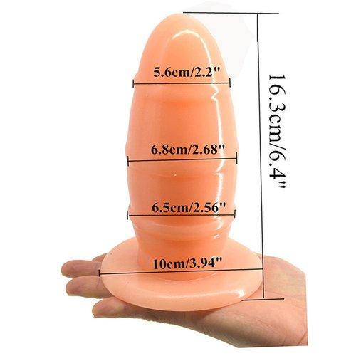 Dụng cụ kích thích hậu môn hình bầu dục Fakk HM077 kích thước sản phẩm