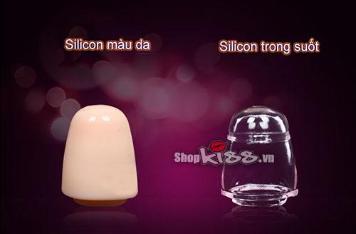 Bao silicon đôn to và dài quy đầu BD20 siêu khủng và siêu kích thích