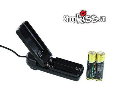 Dương vật giả bơm hơi rung đa cấp DV03 dùng pin thay tiện lợi