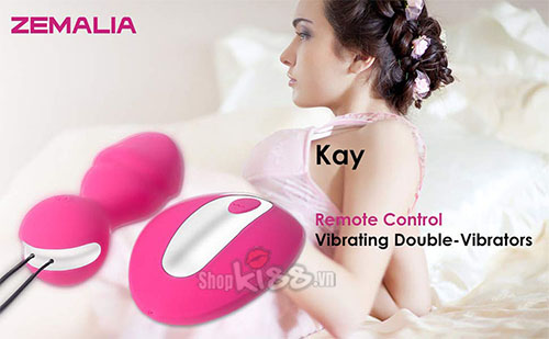 Trứng rung cao cấp Zemalia KAY DC80B dành cho nữ thủ dâm